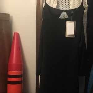 A black M size dress from Kohl's - Never worn